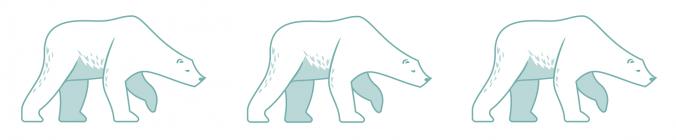 polar bears icon